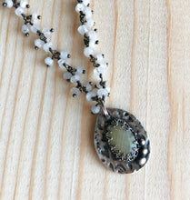 Load image into Gallery viewer, Fall in Love ~ White Sapphire Necklace