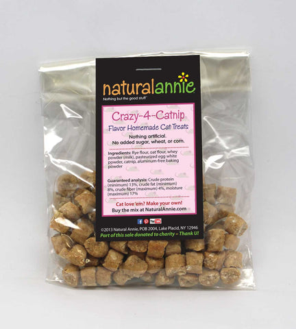 Crazy-4-Catnip Cat Treats