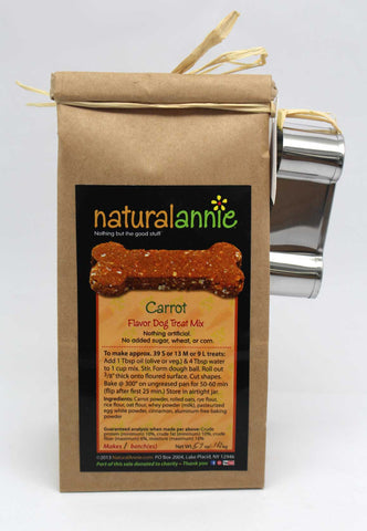 Carrot Dog Treat Mix