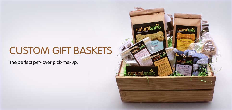 Gift baskets available. Just email us to learn more.