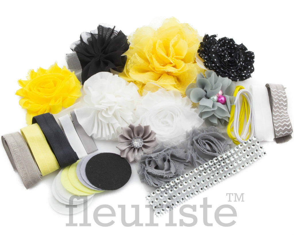 DIY Headband Baby Shower Kit