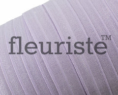 "Solid 5/8"" Foldover Elastic by the Yard-lavender"