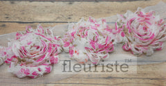 Patterned Shabby Trim by the Yard- Floral 146