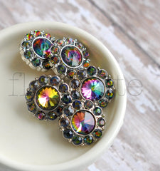 21mm Mystic Rainbow Button