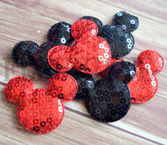 XL Padded Mouse Appliques-Pick Your Color