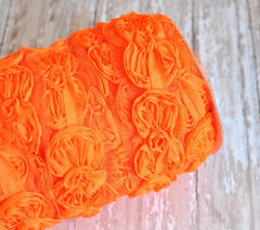 Mini Bow Trim-Orange