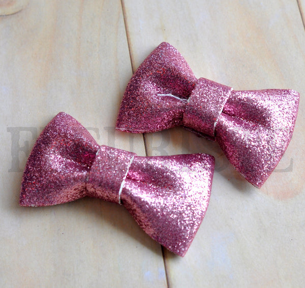 Glitter Bow-Pick Your Color