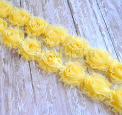 Petite Solid Shabby Rose Trim-Butter