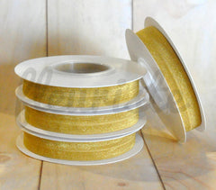5 Yard Pre-Packaged Roll - Solid Fold Over Elastic - Mustard