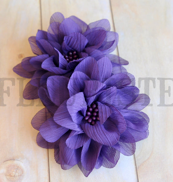 Cluster Beaded Flowers-Pick Your Color