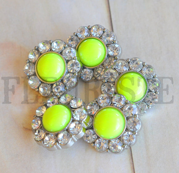 Neon Pearl Buttons-23mm-Pick Your Color