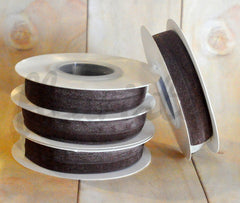 5 Yard Pre-Packaged Roll - Solid Fold Over Elastic - Light Chocolate