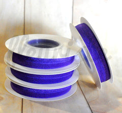 5 Yard Pre-Packaged Roll - Solid Fold Over Elastic - Purple