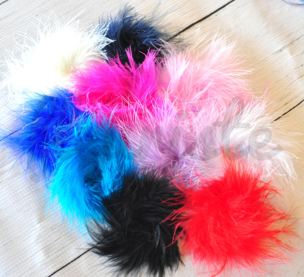 Marabou Puffs - Pick Your Color