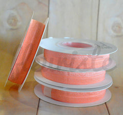 5 Yard Pre-Packaged Roll - Solid Fold Over Elastic - Fuzzy Peach