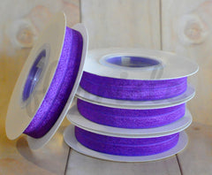 5 Yard Pre-Packaged Roll - Solid Fold Over Elastic - Regal Purple