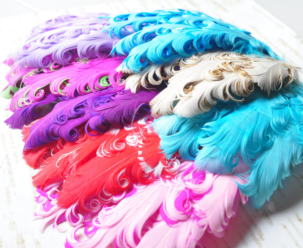 Nagorie Feather Pads - Pick Your Color