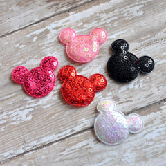 Padded Mouse Appliques-Pick Your Color
