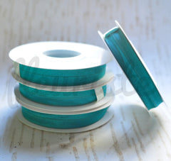 5 Yard Pre-Packaged Roll - Solid Fold Over Elastic - Dark Jade Teal