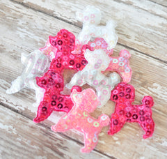 XL Poodle Appliques - Pick Your Color