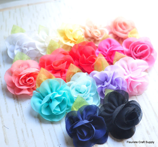 Sheer Petal Flower - Pick Your Color