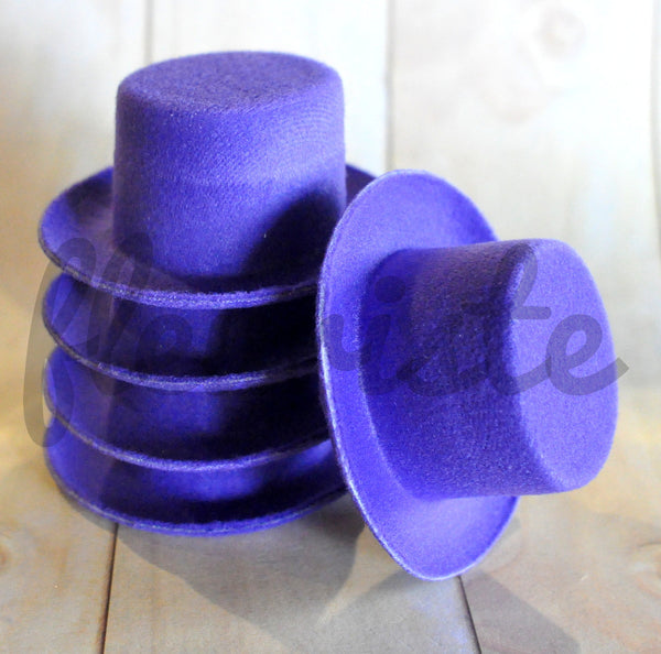Mini Felt Top Hats - Doll Sized - Pick Your Color
