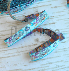 "Woven Ribbon-Single Yard-Sweet Mermaids-5/8"" Width"