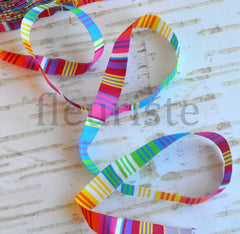 "Woven Ribbon-Single Yard-Fiesta-1/2"" Width"