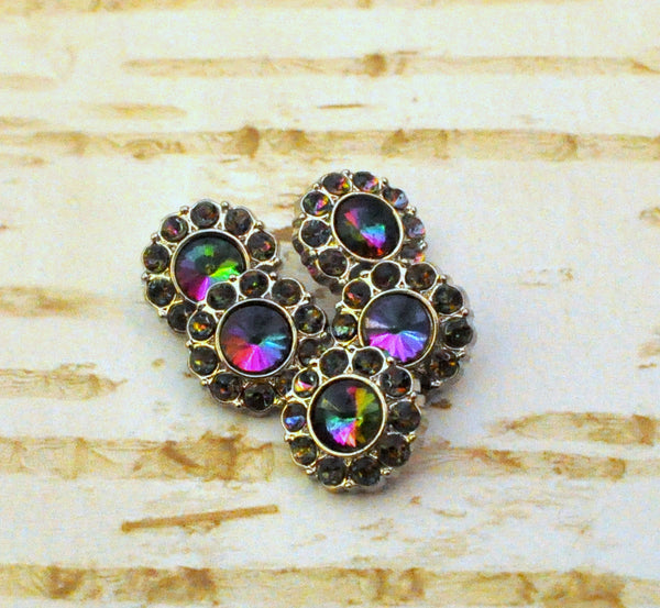 13mm Mystic Rainbow Button