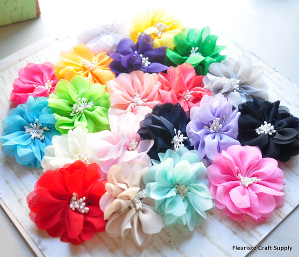 Mini Hibiscus Flower - Pick Your Color