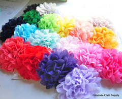 XL Chiffon Poof Flower - Pick Your Color