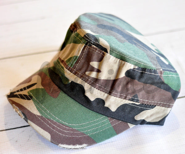 Blank Cadet/Baseball Hats - Pick Your Color