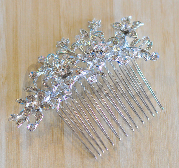 Bridal Comb - Ready to Wear - Star Flowers