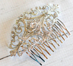 Bridal Comb - Ready to Wear - Gatsy Inspired Curls
