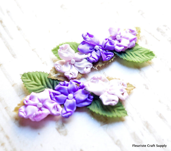 Vintage Floral Crown Flowers - Pick Your Color