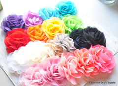 Soft Chiffon Lotus Flower - Pick Your Color