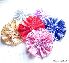 Glittered Ballerina Flowers - Pick Your Color