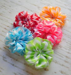 Mini Chevron Ballerina Flowers - Pick Your Color
