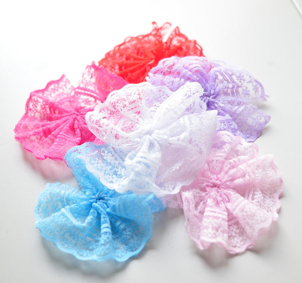 Lace Layering Flower - Pick Your Color