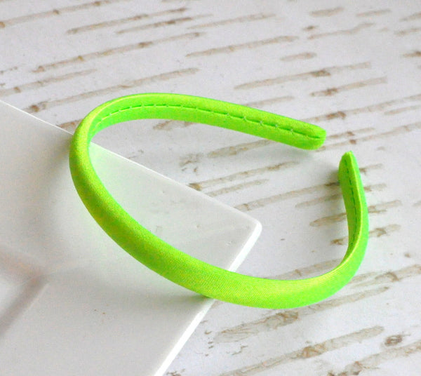 Satin Doll Headband Lime