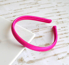 Satin Doll Headband Fuchsia