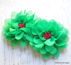 Cluster Beaded Christmas Flower