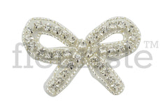 Beaded Bridal Applique-Single Applique-Petite Bow