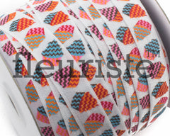 "Printed Fold Over Elastic-5/8"" Width Cupcakes"