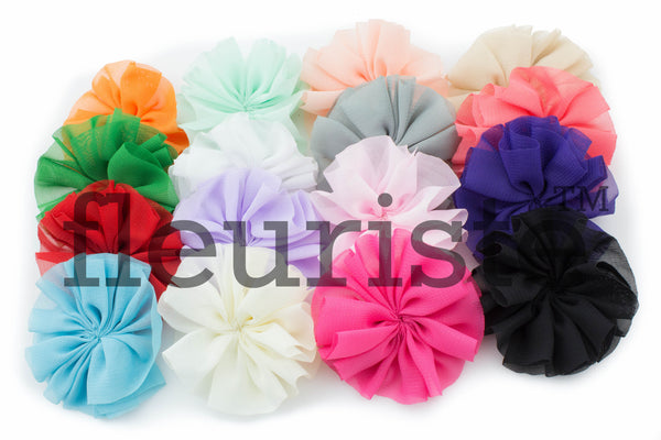 Ballerina Flowers 2.5 inch - Pick Your Color