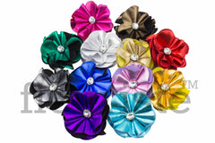 Shiny Flowers 2 inch - Pick Your Color