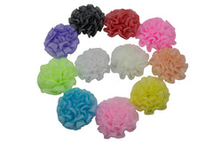 "3"" Pettite Puff Flower - Pick Your Color"