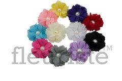 "Pearl Flowers 2"" - Pick Your Color"