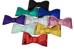 "5"" Large Sequin Bow - Pick Your Color"