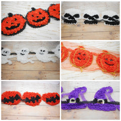 Halloween Shabby Applique - Choose Your Appliqué